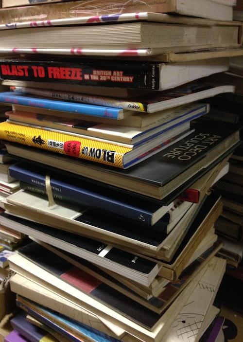古本買取クラリスブックス、デザイン書・美術書・展覧会図録